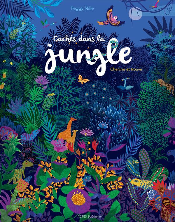 Cachés dans la jungle ; cherche et trouve