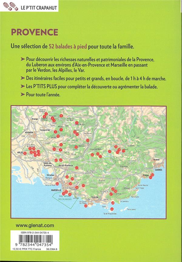 Provence ; 52 balades du Ventoux à la Méditerranée
