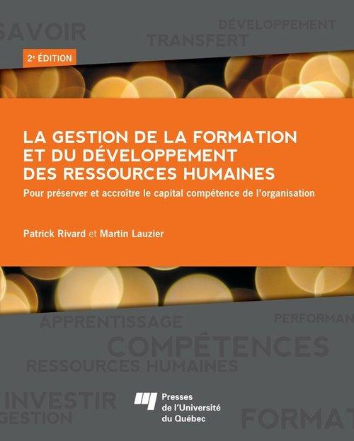 Gestion de la formation et du développement des ressources humaines