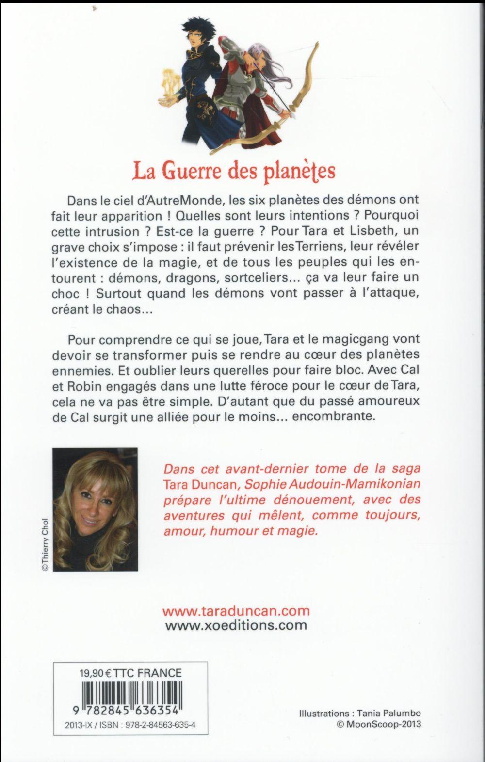 Tara Duncan t.11 ; la guerre des planètes