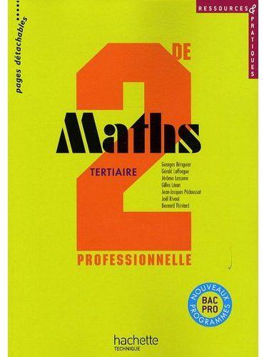 Ressources Et Pratiques Maths 2de Bac Pro Tertiaire (C) - Livre Eleve - Ed.2009