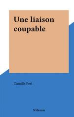 Une liaison coupable  - Camille Pert