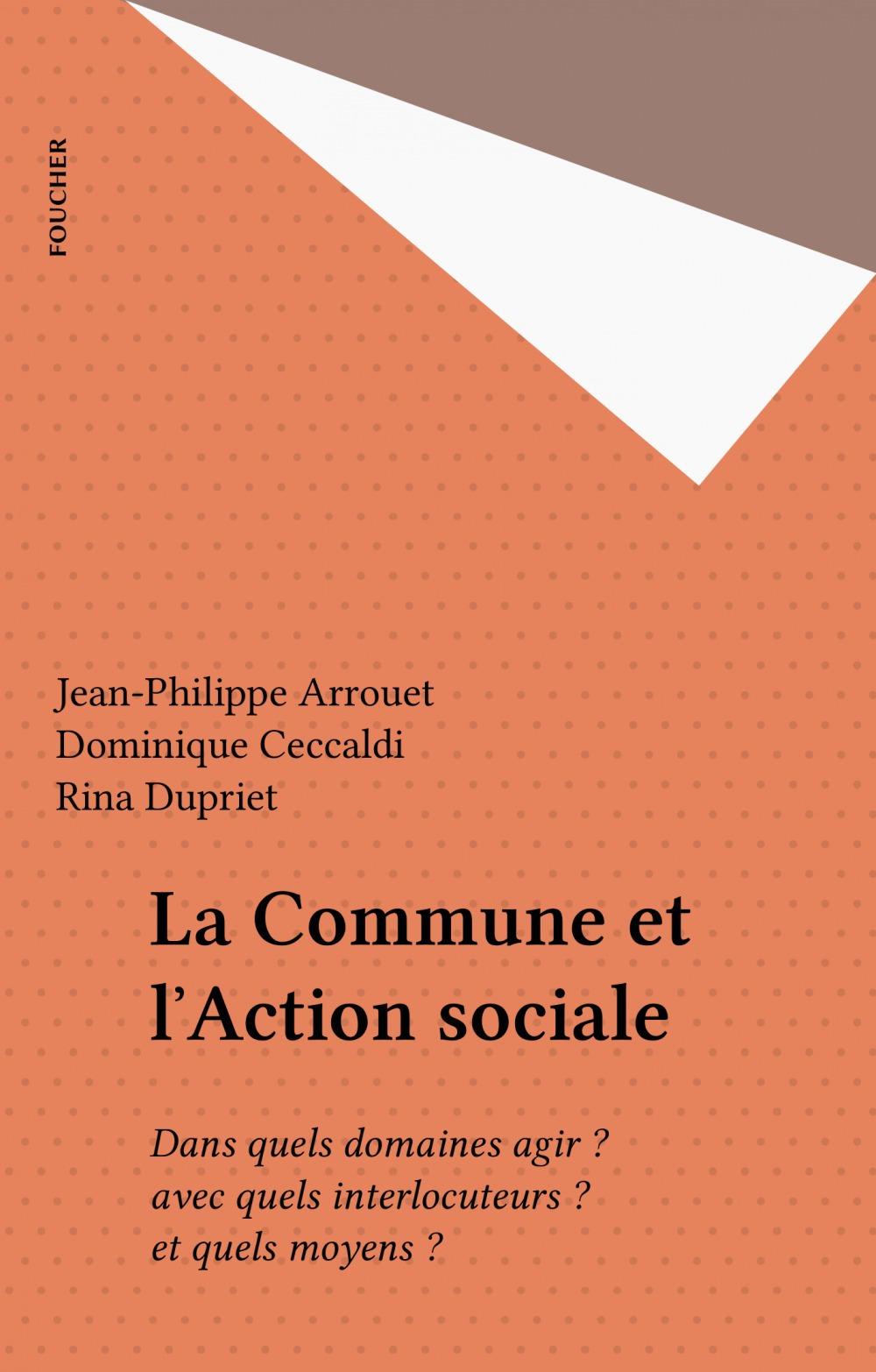 La Commune et l'Action sociale