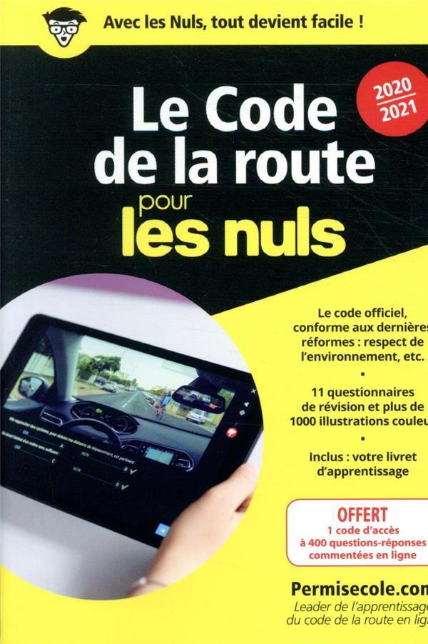 Le code de la route poche pour les nuls (édition 2020/2021)