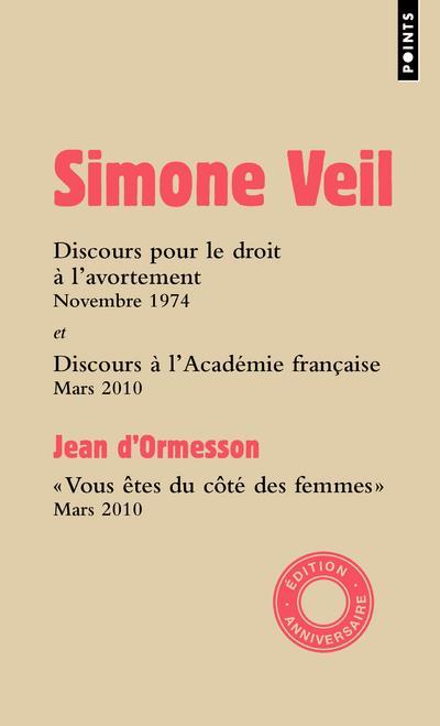 Discours à l'Assemblée nationale et à l'Académie française