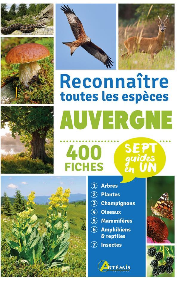 Auvergne, reconnaître toutes les espèces