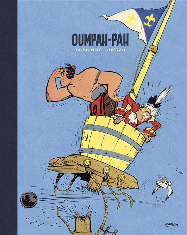 Oumpah-Pah ; INTEGRALE T.1 A T.3 ; artbook