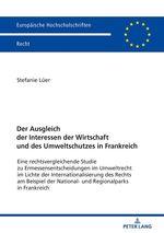 Europaeische hochschulschriften recht - t6106 - der ausgleich der interessen der wirtschaft und des  - Luer Stefanie