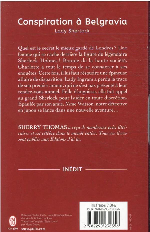 Lady Sherlock t.2 ; conspiration à Belgravia