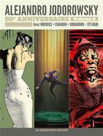 Couverture de Jodorowsky 90 Ans T8 : Griffes D'Ange - La Verite Est Au Fond Des Reves - Gilles Hamesh