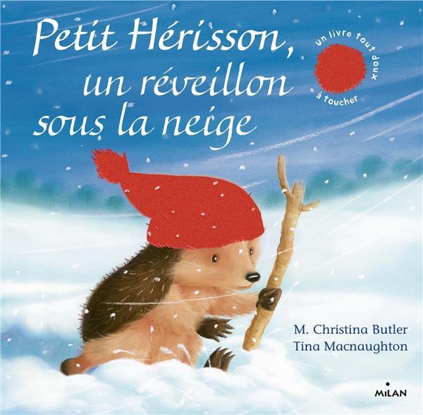 PETIT HERISSON, UN REVEILLON SOUS LA NEIGE