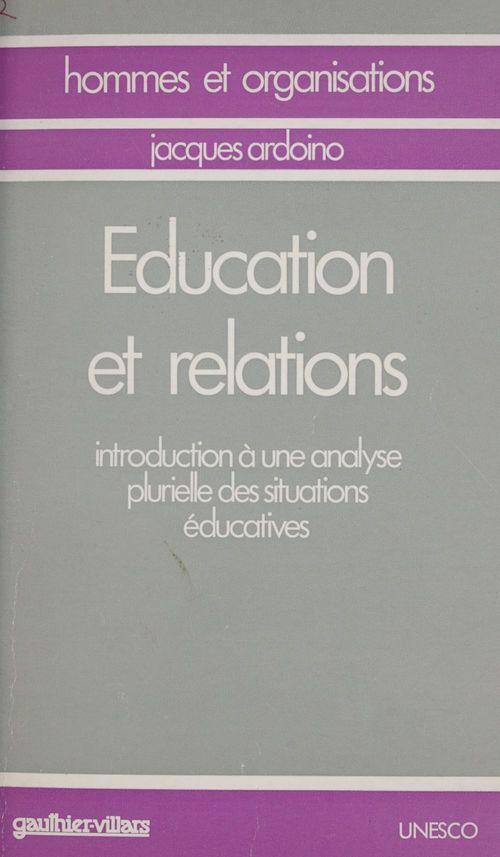 Propos actuels sur l'éducation (3)