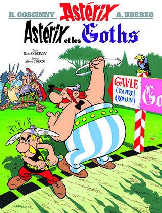 ASTERIX T.3  -  ASTERIX ET LES GOTHS GOSCINNY/UDERZO
