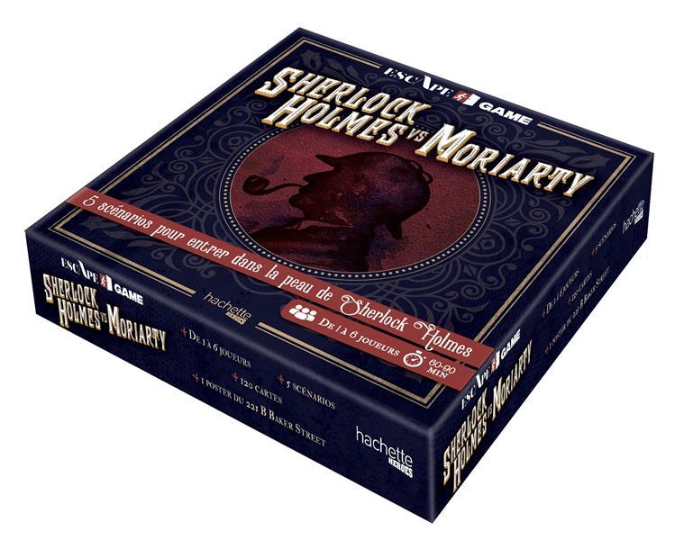 Escape game ; Sherlock Holmes vs Moriarty ; 5 scénarios pour entrer dans la peau de Sherlock Holmes