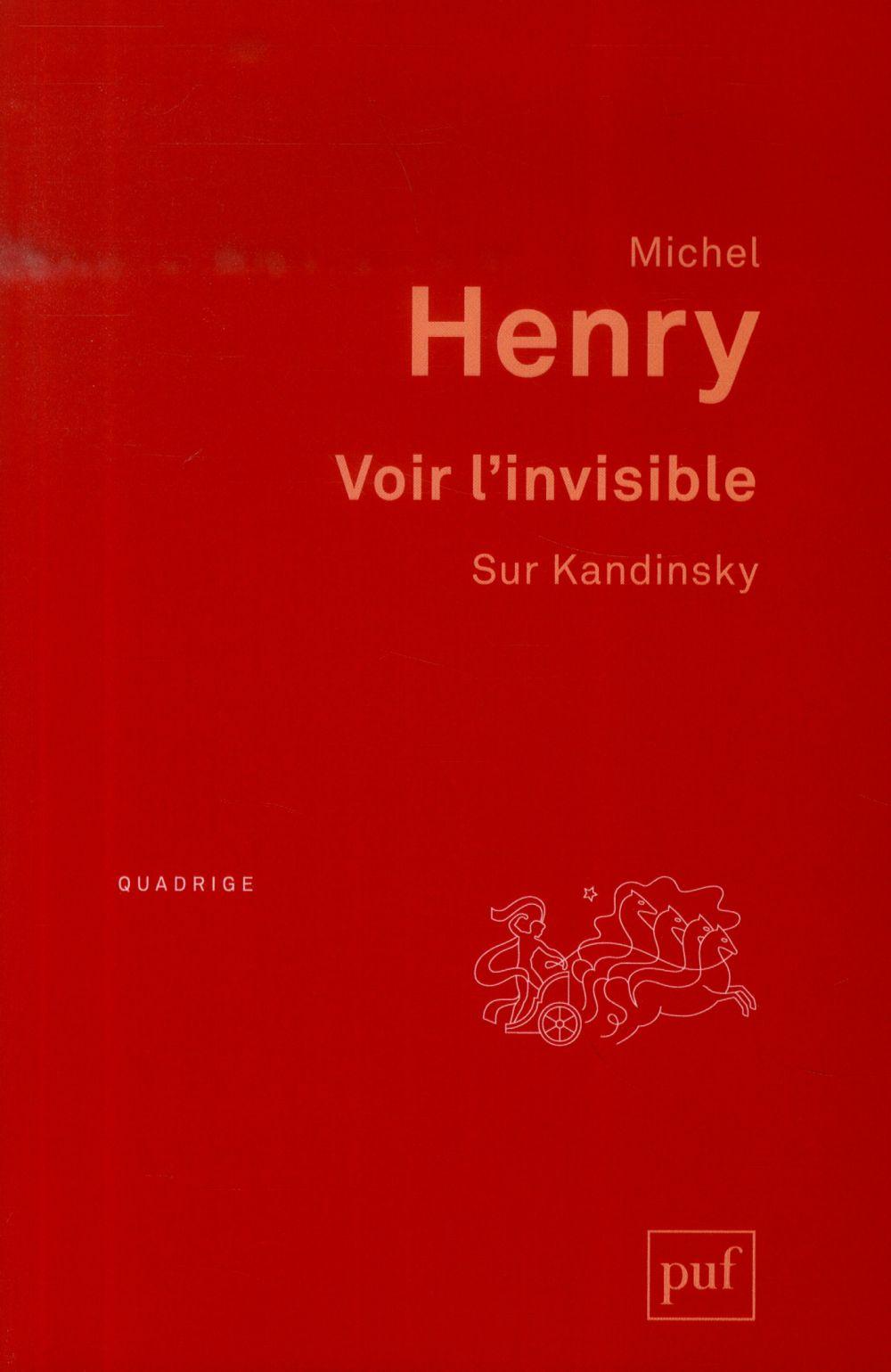 VOIR L'INVISIBLE. SUR KANDINSKY  (3ED)