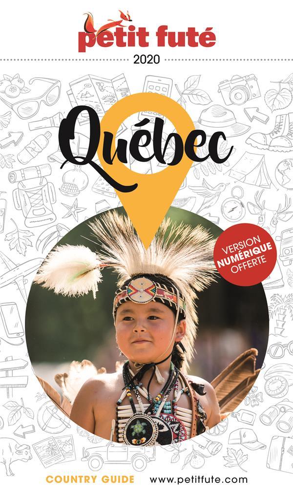 GUIDE PETIT FUTE ; COUNTRY GUIDE ; Québec (édition 2020)