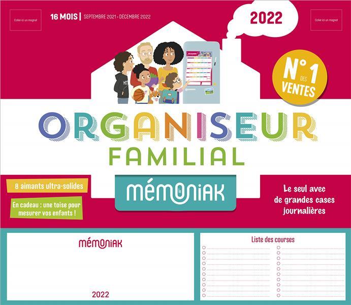 Mémoniak ; organiseur familial (édition 2021/2022)