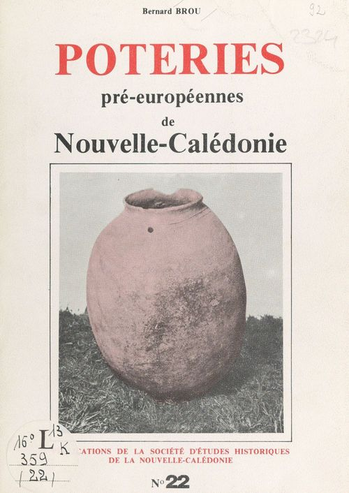 Poteries pré-européennes de Nouvelle-Calédonie