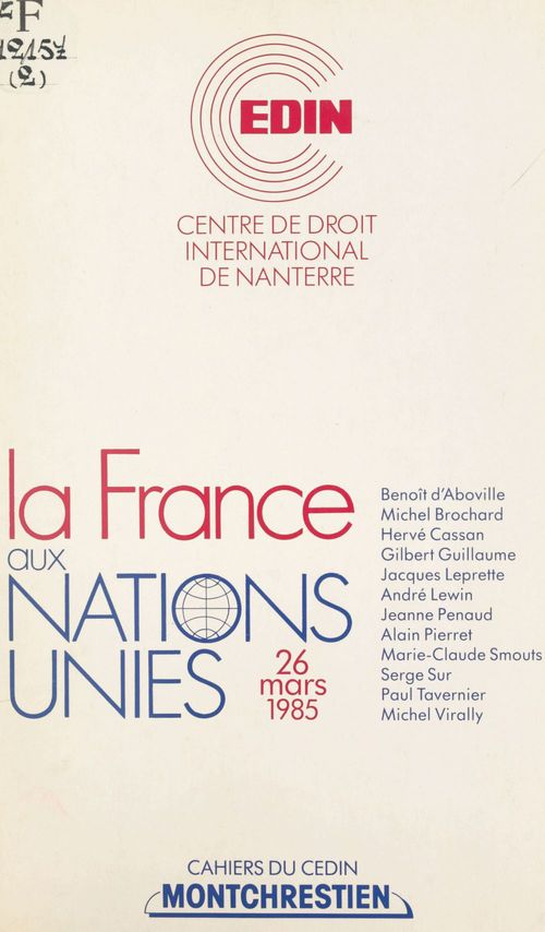 France aux nations unies