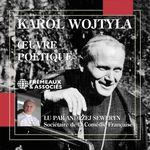 OEuvre poétique  - Karol Wojtyla (Jean-Paul II)