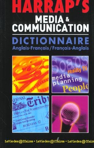 Harrap's media et communication ; dictionnaire angalis-français/français-anglais