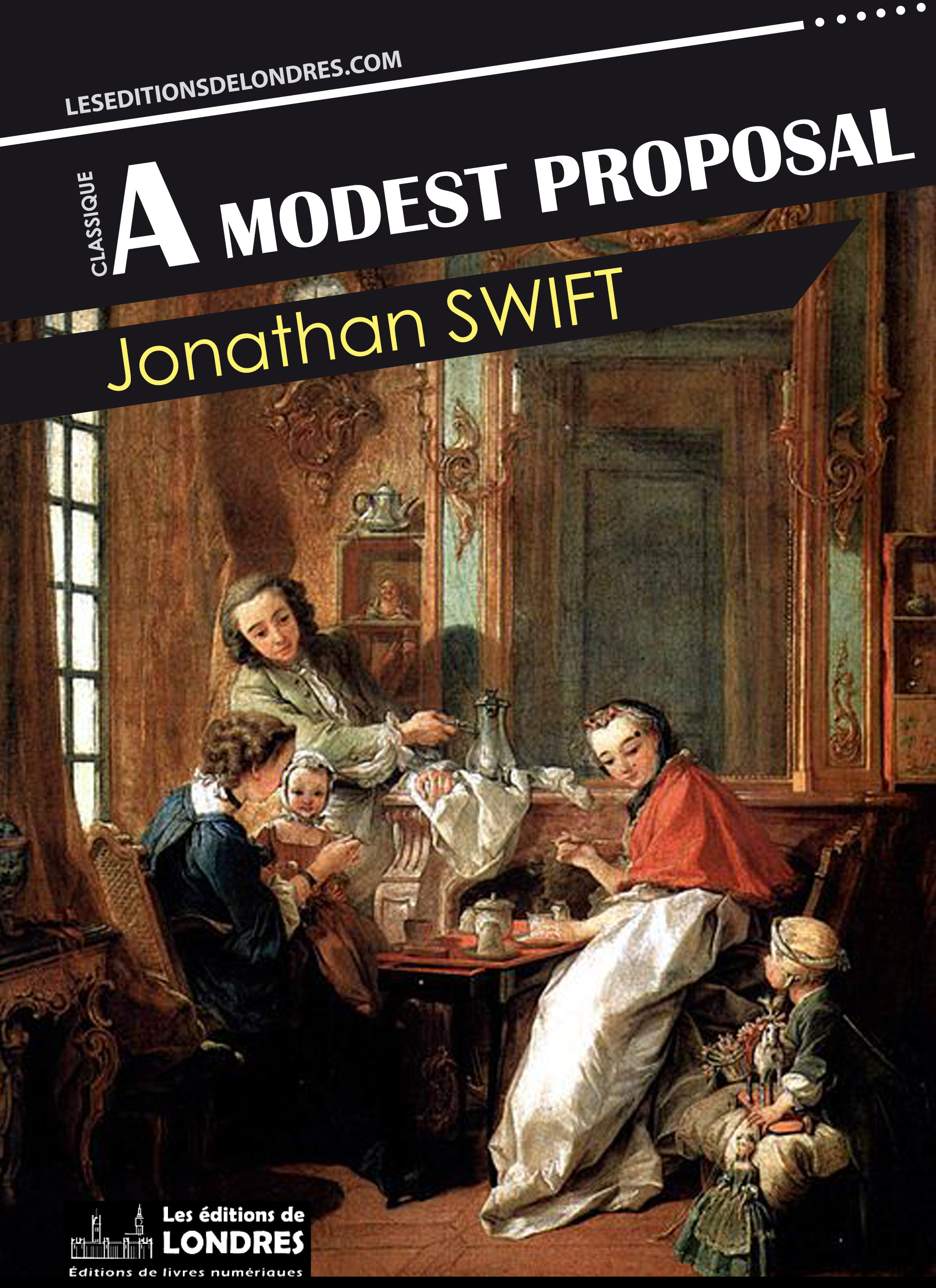 Vente EBooks : A Modest Proposal  - Jonathan Swift