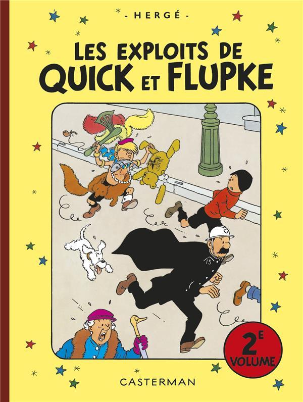 Les exploits de Quick et Flupke ; INTEGRALE VOL.2