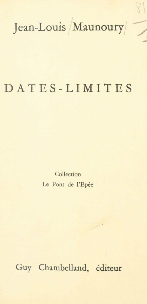Dates-limites