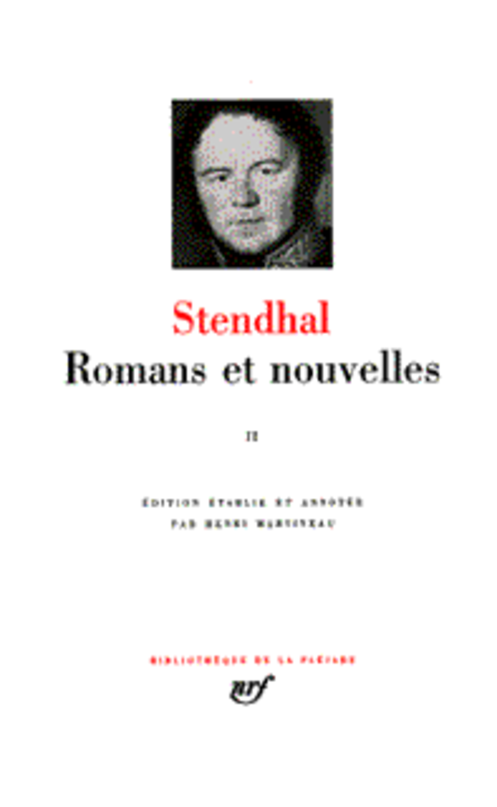 Romans Et Nouvelles T1
