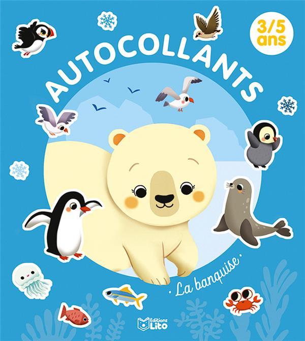 Autocollants La Banquise Paku Lito Papeterie Coloriage Le Hall Du Livre Nancy