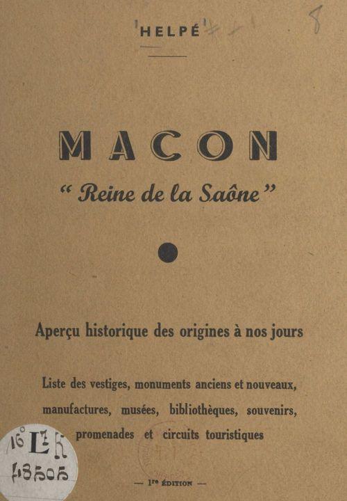 Mâcon, reine de la Saône