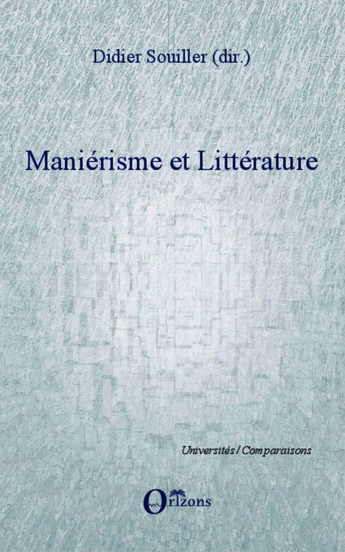 Maniérisme et littérature
