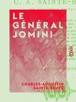 Vente EBooks : Le Général Jomini  - Charles-Augustin SAINTE-BEUVE