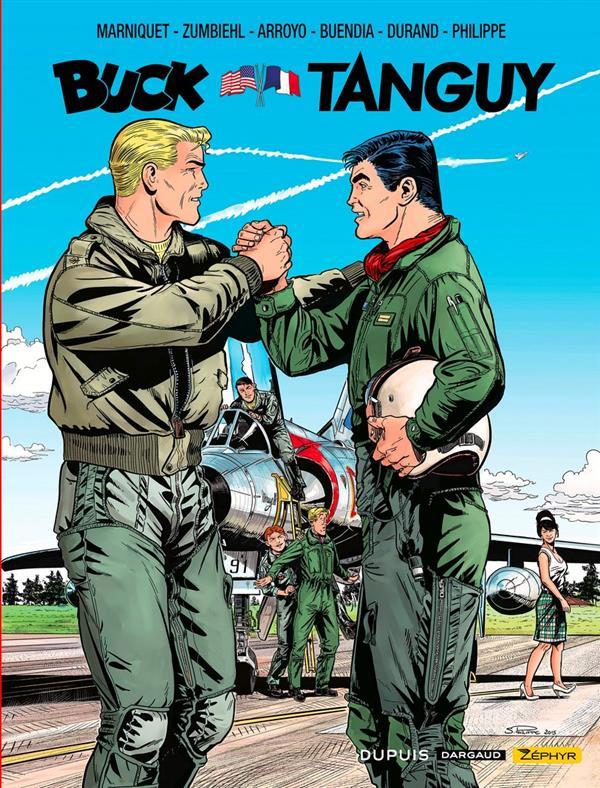 les aventures de « Buck Danny » Classic Hors-Série ; Buck vs Tanguy ; la rencontre