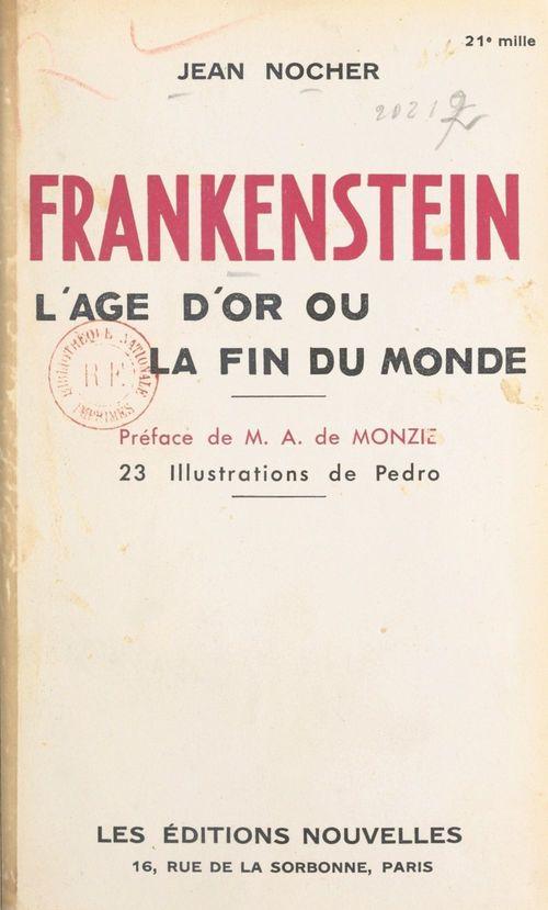 Frankenstein  - Jean Nocher