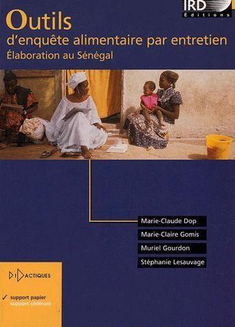 Outils d'enquête alimentaire par entretien ; élaboration au Sénégal