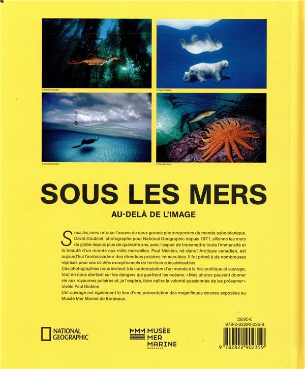 Sous les mers ; au-delà de l'image