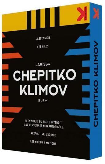 Coffret Larissa Chepitko - Elem Klimov