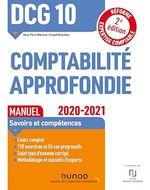 Vente EBooks : DCG 10 Comptabilité approfondie - Manuel - 2020/2021  - Marie-Pierre Mairesse - Arnaud Desenfans