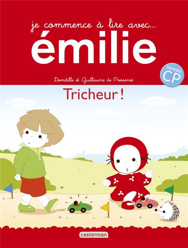 Je commence à lire avec Emilie ; tricheur !