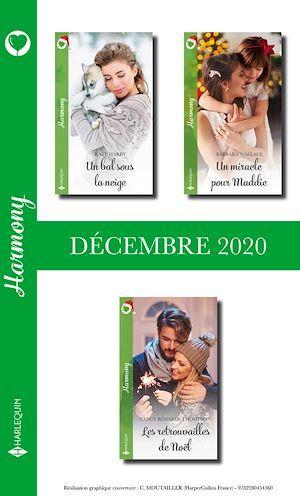 Pack mensuel Harmony : 3 romans (Décembre 2020)  - . Collectif
