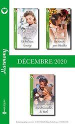 Pack mensuel Harmony : 3 romans (Décembre 2020)