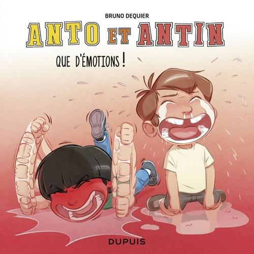 Anto et Antin T.3 ; que d'émotions !