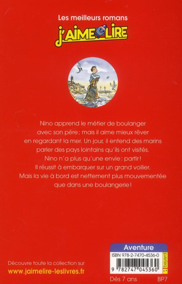 j'aime lire t.147 ; le tour du monde de Nino