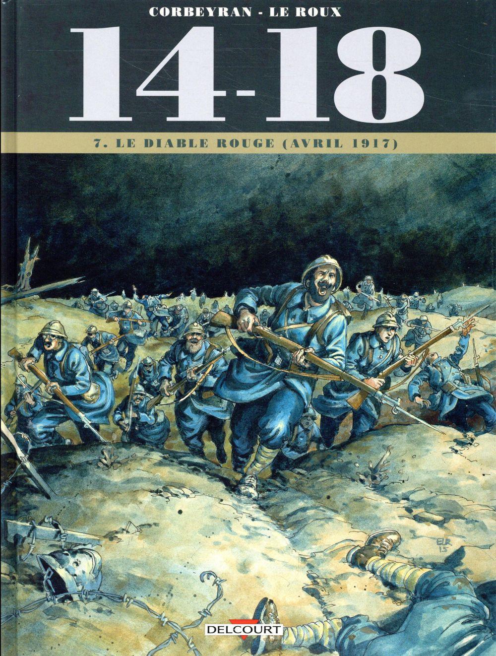 14-18 T.7 ; le diable rouge (avril 1917)