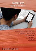 Vente EBooks : Fiche de lecture Molloy - Résumé détaillé et analyse littéraire de référence  - Samuel BECKETT