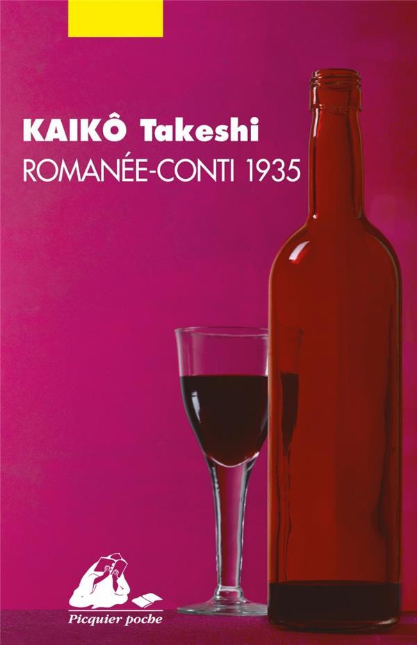 KAIKO TAKESHI - ROMANEE-CONTI 1935