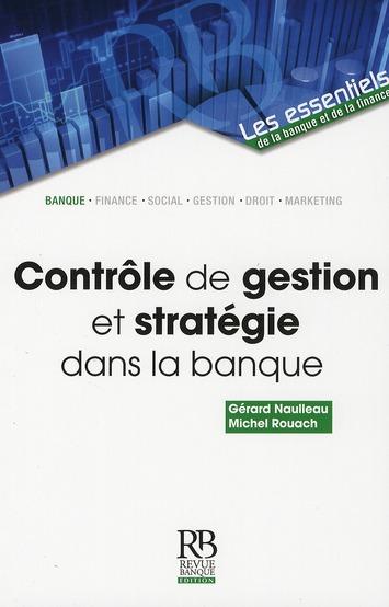 Controle De Gestion Et Strategie Dans La Banque