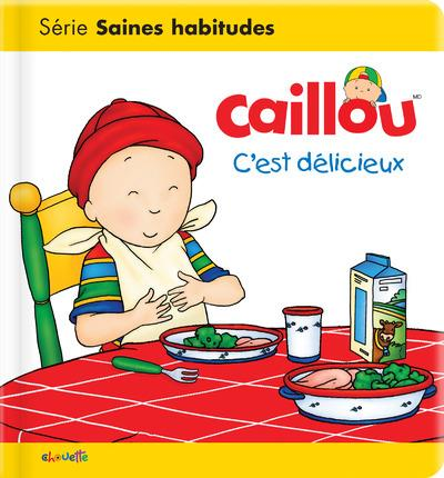 Les essentiels de Caillou ; c'est délicieux !