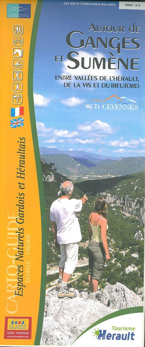 Autour de Ganges et Sumène ; entre vallées de l'Hérault de la Vis et du Rieutord